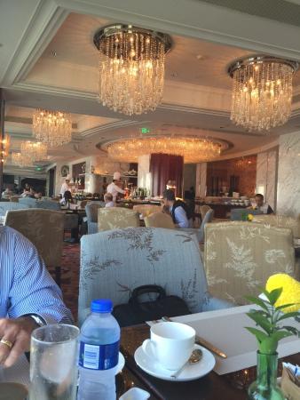 Shangri-La Hotel Guangzhou : A view of the Horizon Club