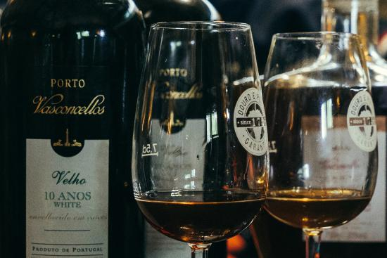 Vila Nova de Gaia, Portogallo: Wine glass