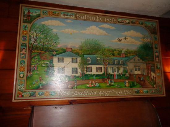 West Brookfield, Μασαχουσέτη: Painting of Inn