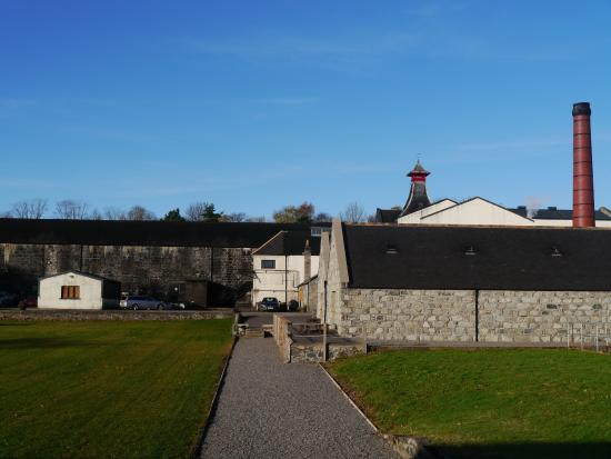 Huntly, UK : distillery