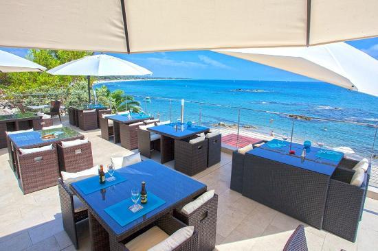 Bagheera Naturist Holiday Resort : terrasse restaurant