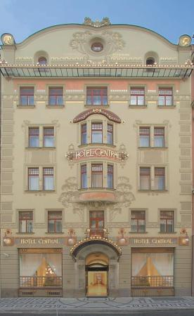 hotel central praga: