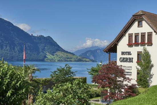 Hotel Gerbi: Aussicht vom Pool