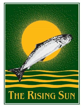 The Rising Sun Hotel: logo