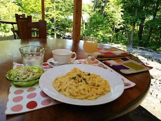 Miyota-machi, Япония: ならの木 カルボナーラ