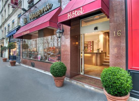 Hotel Massena : Facade de l'hôtel