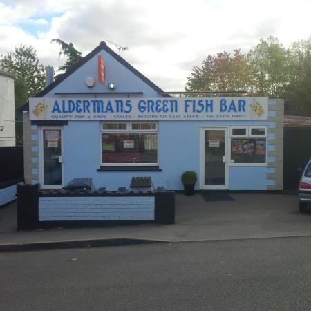 Alderman green fish bar