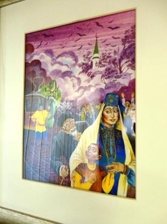 Novy Kyrlay, Russie : в музее