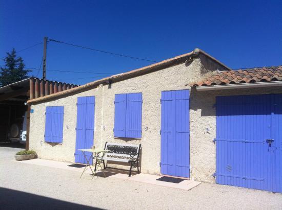 Caumont-sur-Durance, Francia: chambre en annexe
