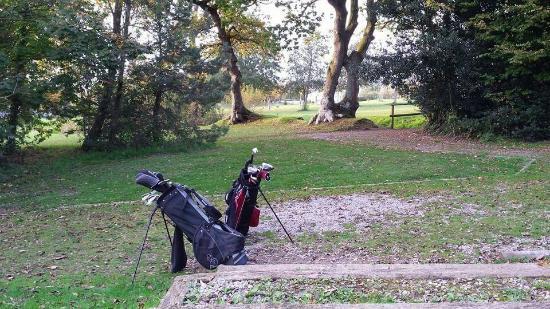 Pencoed, UK: Mooie, rustige parkgolfbaan