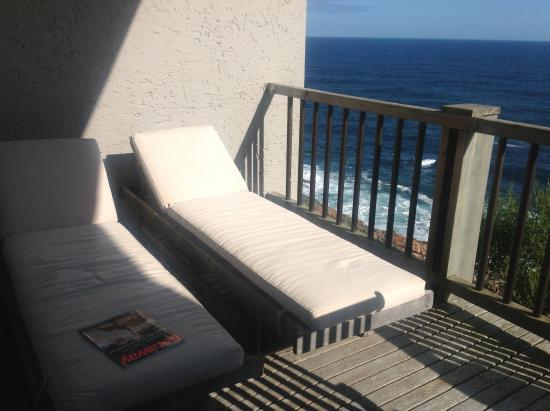 Plettenberg Park Hotel & Spa: Balcony off bedroom