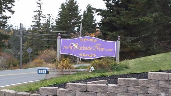 Queensland, Canadá: Surfside Inn sign