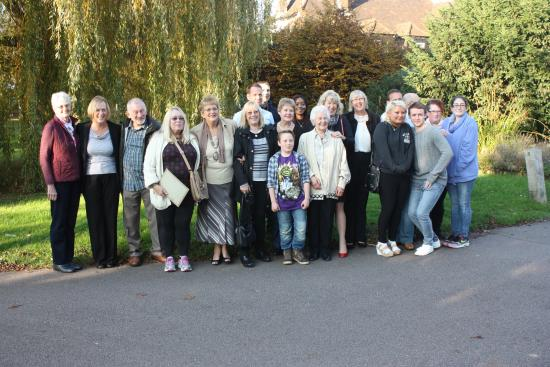 Abbots Langley, UK: One half of the family.