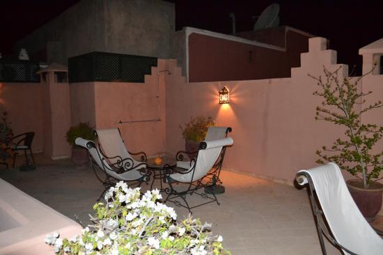 Riad Nerja: roof terrance