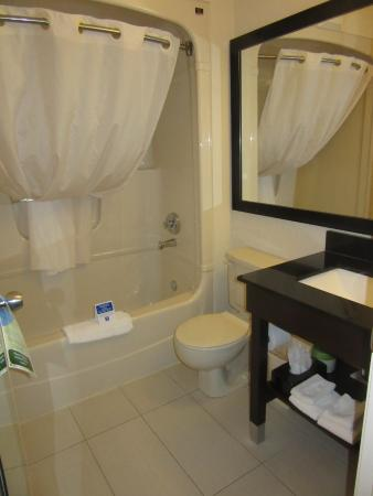 Comfort Inn - Highway 401: Bathroom