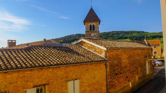 Solutre-Pouilly, Frankrike: View from my window