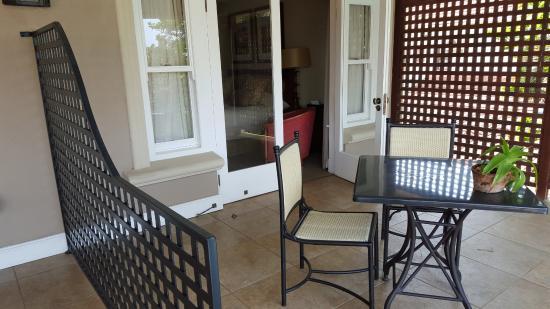 AHA Auberge Hollandaise Guest House: Balcony