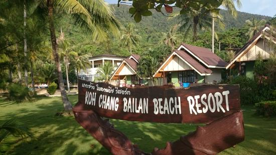 Bailan Beach Resort : Hotel view