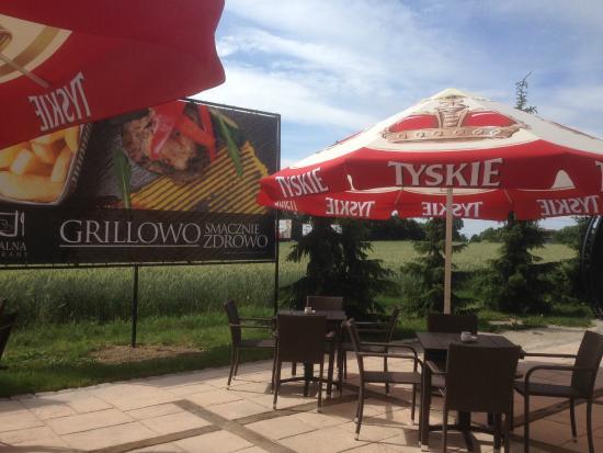 Piaskowy Hotel: taras_grillowy