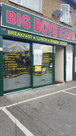 Greenford, UK: Big Boys Cafe