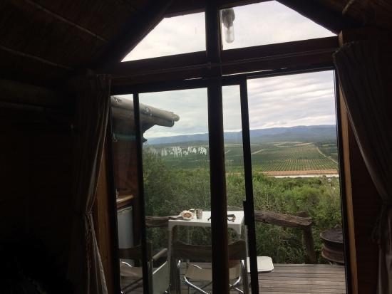 Addo, Sydafrika: Kamer en de uitzicht van kamer 3