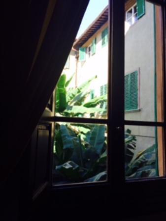 Soggiorno Panerai: Uitzicht vanuit onze kamer (ik meen kamer 1?)
