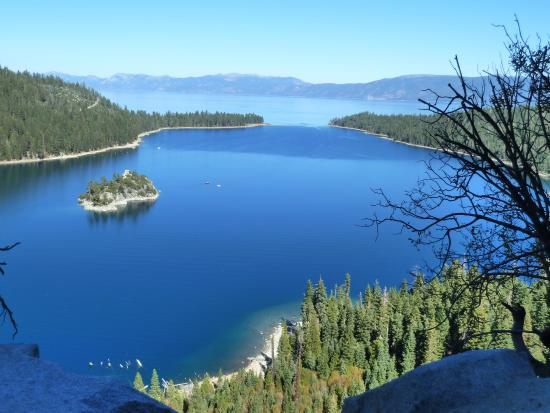 Harrah's Lake Tahoe: Emerald Bay, close by.
