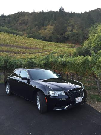 Mill Valley, CA: Chrysler 300 at Napa Wine Tours