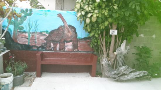 Пуерто-Вильямиль, Эквадор: PASILLO DEL HOSTAL BRISAS DEL MAR