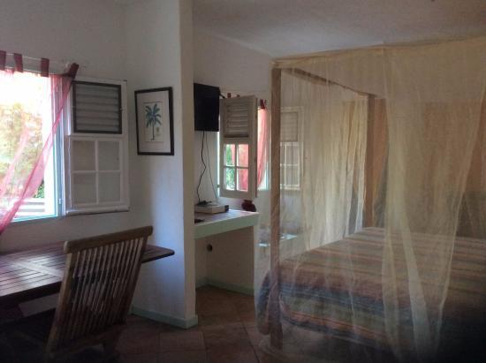 Morning Glory Villa: STUDIO PELICAN AVEC LIT KING SIZE MEMOIRE DE FORME