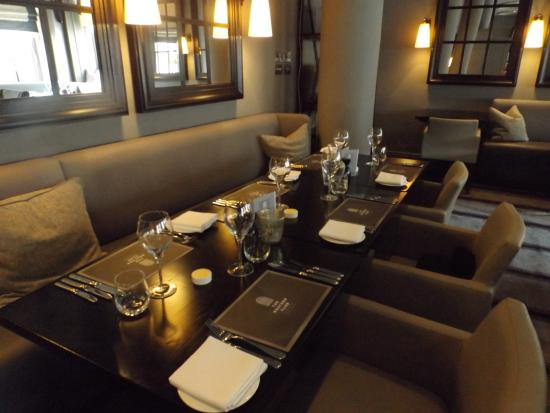 Charming The Western Club Restaurant: Our Table. Part 29
