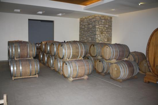 Vinarija Jeremic: Wine Barrels