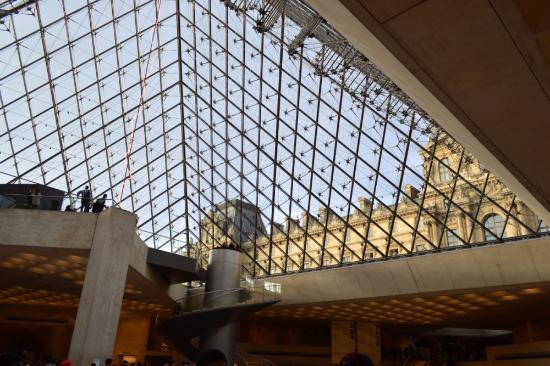 Le Louvre vu de l\'intérieur - Picture of Auditorium du Louvre, Paris ...