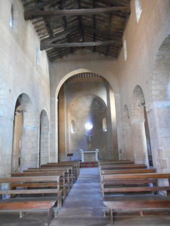 Chiesa di San Gregorio: Navata centrale