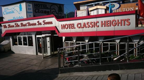 Classic Heights Hotel: Hotel