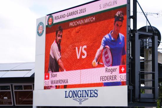 Stade Roland Garros: clash of the titans