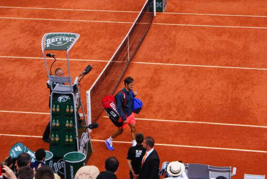 Stade Roland Garros: here he comes