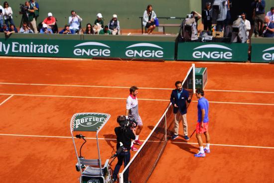 Stade Roland Garros: Before the big game