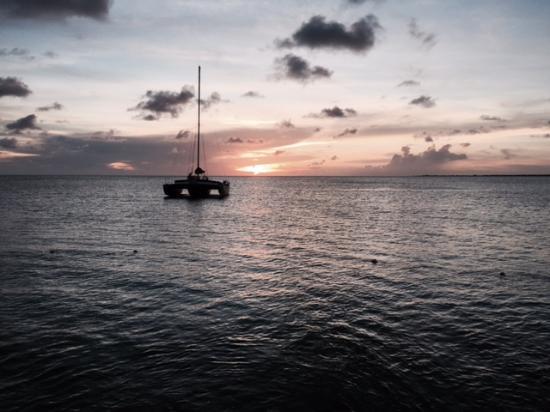 Caribbean Court Bonaire - Breezy Bonaire: Beautiful Sunset