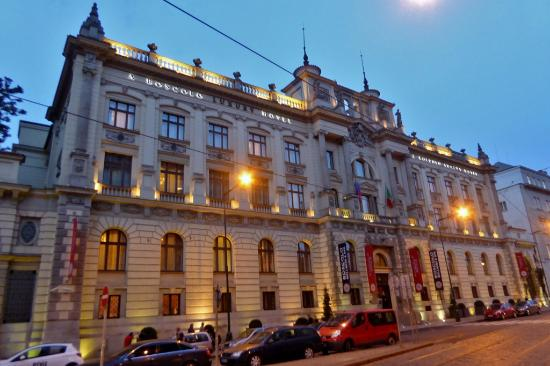 Image gallery boscolo prague for Modern hotel prague