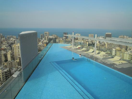 Terrace pool view 3 picture of staybridge suites beirut for Terrace beirut