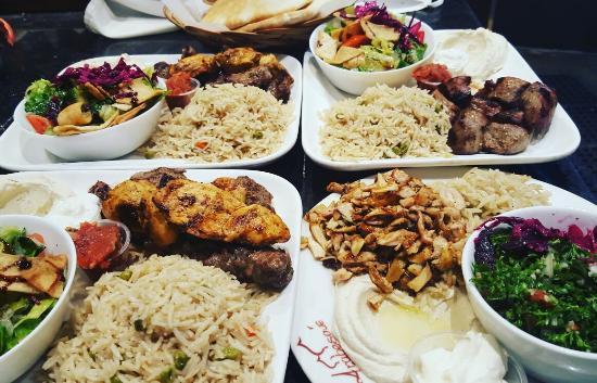 Arabesque cafe family restaurant picture of arabesque for Arabesque lebanon cuisine