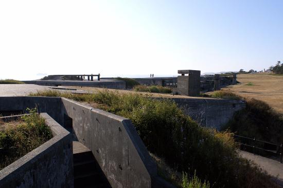 คูปวิลล์, วอชิงตัน: Fort Casey defences