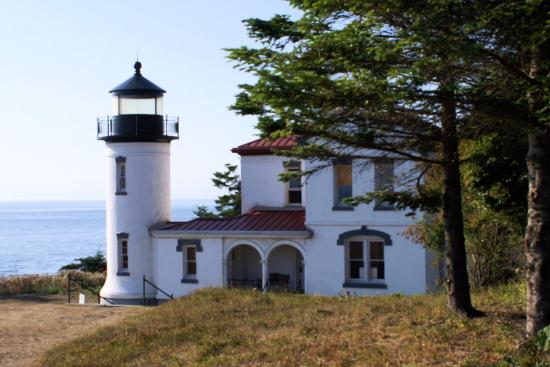 Coupeville, WA: Fort Casey Lighthouse