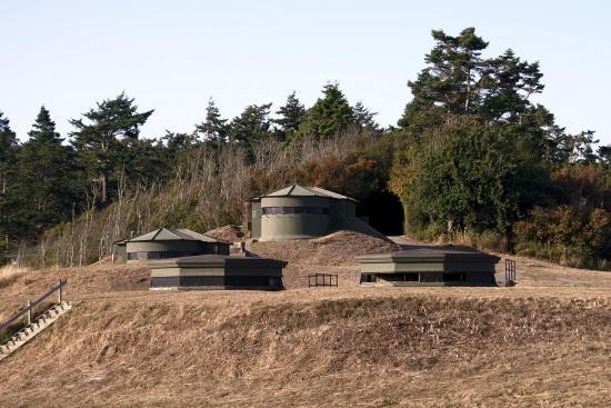Coupeville, WA: Underground bunkers