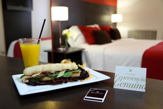 Majestic Hotel Rosario: Habitación