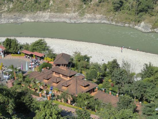 Kurintar, Nepal: Trisuli river view 2