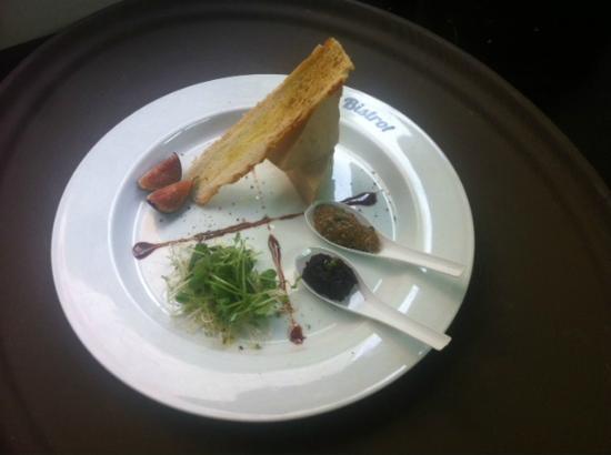 Le Bistrot : foie gras