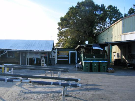 Shell Island Fish Camp: office and store
