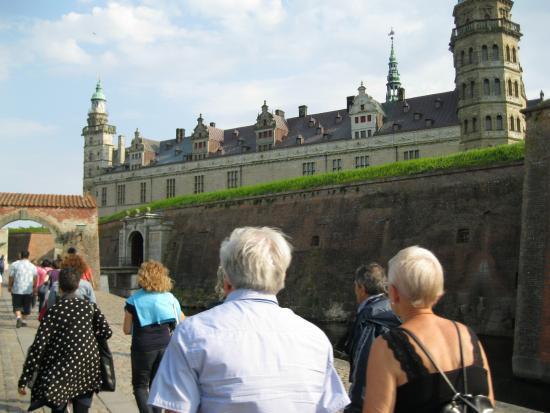Kronborg, เดนมาร์ก: Una fortezza sul mare